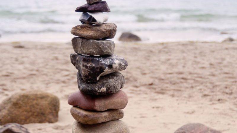 Ud at samle sten